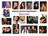 Elenco Artisti Nazionali